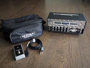 Mesa Boogie 2 Channel (10/25 Watt) Mini Rectifier Head w/ Case