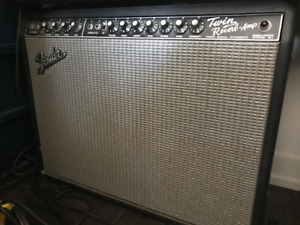 Fender Twin-Reverb Guitar Amp