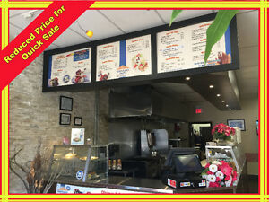 **REDUCED PRICE**Restaurant For Sale, Make your desired food