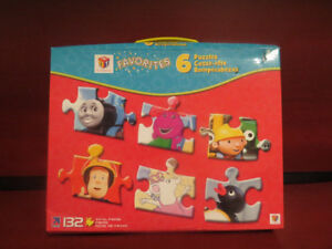 HIT Kids' Favorites 6 Puzzles Set