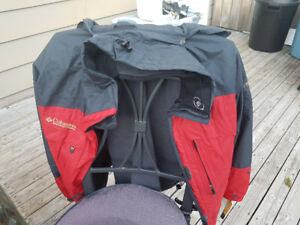 3 in 1 Ladies' Red Columbia Jacket