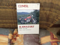 Kawasaki KZ 650 service repair manual for 1977-1983