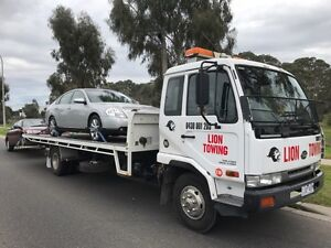 Vehicle and machinery towing service. (Tilt and slide tray)  Hallam Casey Area Preview