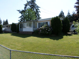 Single Wide Manufactured Home on its own Lot