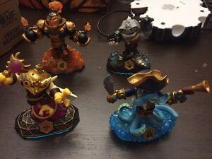 Swap force skylanders figures