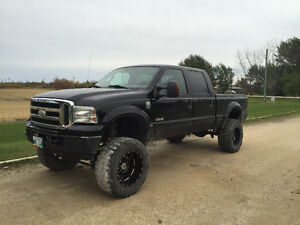 Lifted 2005 Ford F-250 Pickup Truck