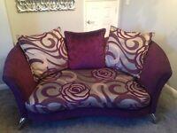 DFS purple sofa for sale