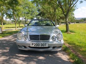 2002 Mercedes CLK230 Elegance Convertible