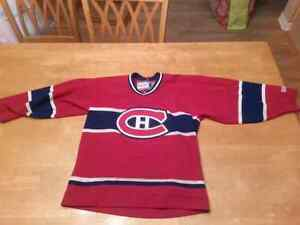 YOUTH MONTREAL CANADIENS HOCKEY JERSEY