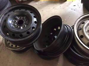 """used sunraysia rims, steel wheels 14"""" 15"""" 16"""" from $10 each Girraween Parramatta Area Preview"""