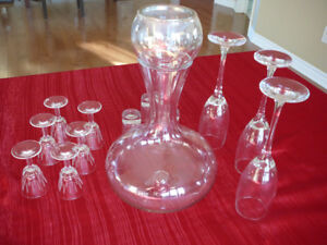 Carafe et coupe
