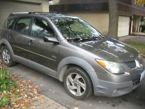 Winter Beater - 2003 Pontiac Vibe Wagon
