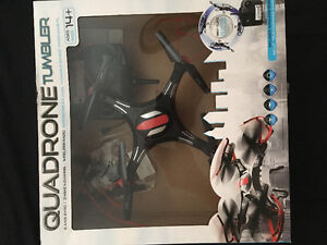 Quadrone remote controlled drone