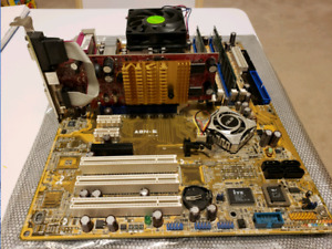 A64 3000+ with motherboard & ram & video card
