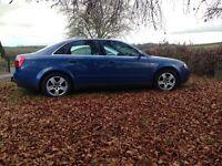 2002 Audi A4 2.5 Tdi Diesel full mot only £795