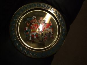 MEXICAN METAL TISOC PLATE