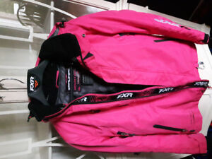 Women's size 4 FXR pink coat for sale