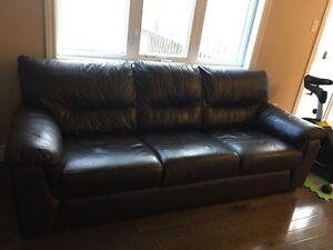 All leather sofa and love seat for sale
