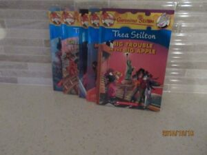 """5 YOUNG ADULT """"THEA STILTON"""" SOFT COVER BOOKS~$3.25 EACH"""