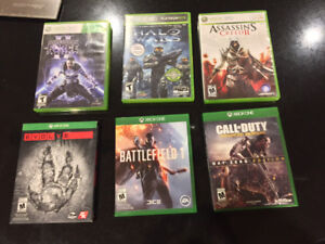 XBOX ONE / 360 games Several