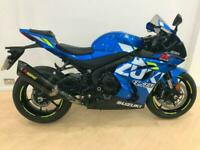 Suzuki GSXR1000 abs with Akrapovic can,20 reg, in blue,save over £2000 from list
