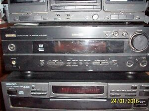yamaha htr-5540 av receiver,no remote,pioneer speakers