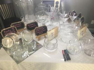 Candy bar supplies