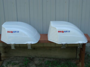 2  -  MAX AIR II RV VENT COVERS  -  LIKE NEW!!!