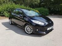 FORD FIESTA 1.0 ECOBOOST ZETEC S S/S 2014. 125 BHP . ONLY 59 K MILES. BLACK