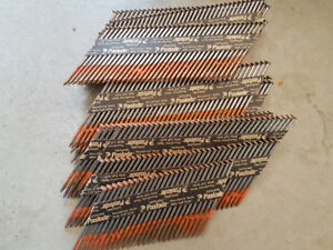 Paslode 30 degree Full Head Nails - 3 inch - 30 plus strips