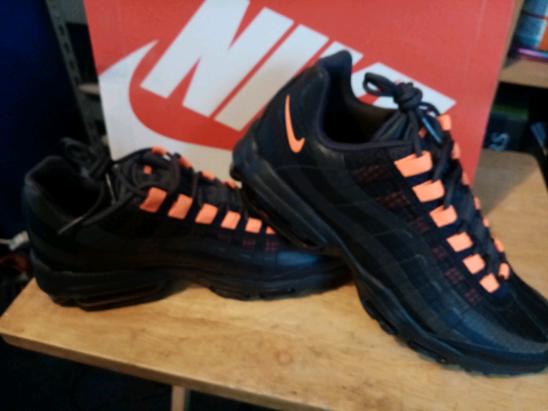 Nike Air Max 95 Ultra SE black and orange. New | in Caister on Sea, Norfolk | Gumtree