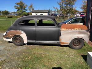 41 chev rat rod project