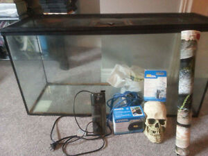 Fish tank and stuff