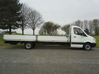 Mercedes Sprinter 3.5T 313 CDI Transit XLWB 19ft 6ins Dropside Very Clean