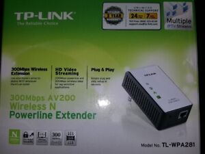 TP-LINK TL-WPA281 300Mbps Wireless N Powerline Adapter
