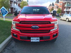 NÉGOCIABLE Ford F-150 2018 Diesel Lariat FX4 rouge