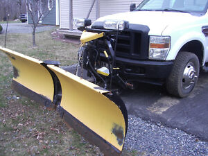2008 Ford F-350 XL  Dually Pickup Truck With Plow