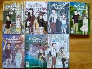 A Silent Voice Manga Complete Set 1-7