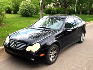 2002 Mercedes-Benz C-Class C230 Coupe (2 door)