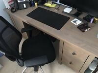 IKEA Hemnes Desk With Addon Unit