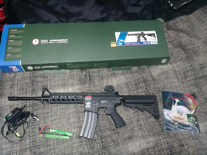 M16 airsoft G&G armament