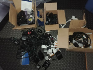 Lot of Various Power Adapters Universal Laptop ETC