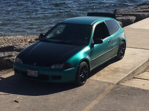 1993 civic DX hatchback