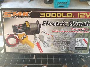 SMK 3000 lb. Electric Winch