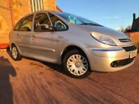 *3 MTHS WARRANTY*2009(59)CITROEN PICASSO 1.6 DESIRE 5DR MPV WITH ONLY 62K*