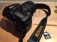 NIkon d90 18-105 afs lens 16G card