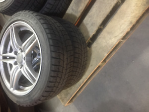 MERCEDES 300 RIMS AND TIRES