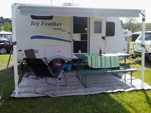 JAYCO 2010 - Roulotte jay feather Sports 16 pieds