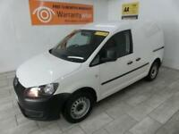 WHITE VOLKSWAGEN CADDY 1.6 C20 TDI STARTLINE ***FROM £166 PER MONTH***