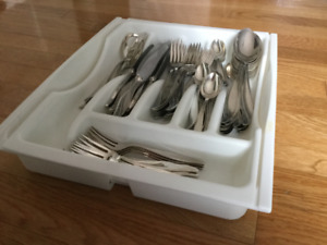 Cutlery - silver-plated